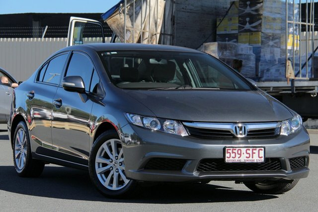 Used Honda Civic 9th Gen VTi-L, 2012 Honda Civic 9th Gen VTi-L Grey 5 Speed Sports Automatic Sedan
