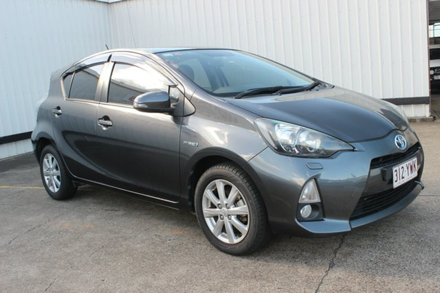 Used Toyota Prius c NHP10R i-Tech E-CVT, 2012 Toyota Prius c NHP10R i-Tech E-CVT Magnetic Grey 1 Speed Constant Variable Hatchback Hybrid