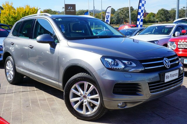 Used Volkswagen Touareg 7P MY14 150TDI Tiptronic 4MOTION, 2013 Volkswagen Touareg 7P MY14 150TDI Tiptronic 4MOTION Grey 8 Speed Sports Automatic Wagon