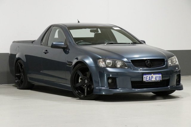 Used Holden Commodore VE SS-V, 2008 Holden Commodore VE SS-V Green 6 Speed Manual Utility