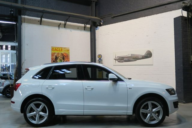 Used Audi Q5 8R MY12 TDI S Tronic Quattro, 2011 Audi Q5 8R MY12 TDI S Tronic Quattro White 7 Speed Sports Automatic Dual Clutch Wagon