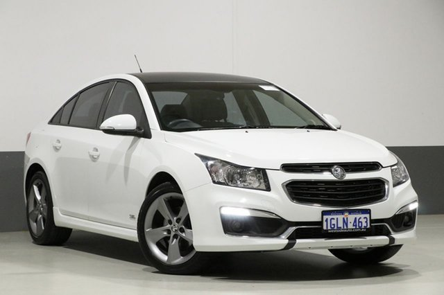 Used Holden Cruze JH MY16 SRI Z-Series, 2016 Holden Cruze JH MY16 SRI Z-Series White 6 Speed Automatic Sedan