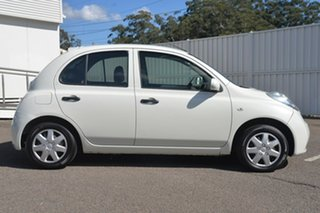 2008 Nissan Micra K12 White 4 Speed Automatic Hatchback.