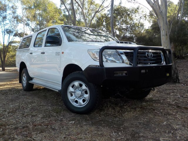 Used Toyota Hilux KUN26R MY12 SR Double Cab, 2012 Toyota Hilux KUN26R MY12 SR Double Cab 5 Speed Manual Utility