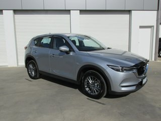 2018 Mazda CX-5 KF4WLA Touring SKYACTIV-Drive i-ACTIV AWD Silver 6 Speed Sports Automatic Wagon.