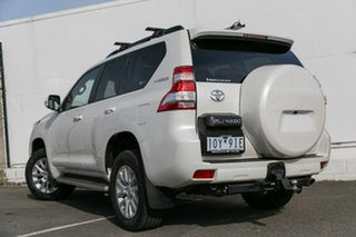 2015 Toyota Landcruiser Prado KDJ150R MY14 Kakadu White 5 Speed Sports Automatic Wagon