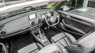 2014 Audi S3 8V MY15 2.0 TFSI Quattro Black 6 Speed Direct Shift Cabriolet