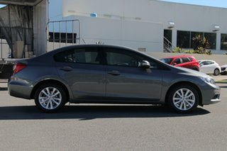 2012 Honda Civic 9th Gen VTi-L Grey 5 Speed Sports Automatic Sedan.