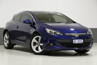 2015 Holden Astra PJ GTC Blue 6 Speed Manual Hatchback.