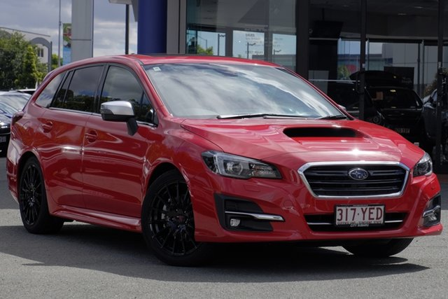 Used Subaru Levorg V1 MY18 1.6 GT CVT AWD Premium, 2018 Subaru Levorg V1 MY18 1.6 GT CVT AWD Premium Red/Black 6 Speed Constant Variable Wagon