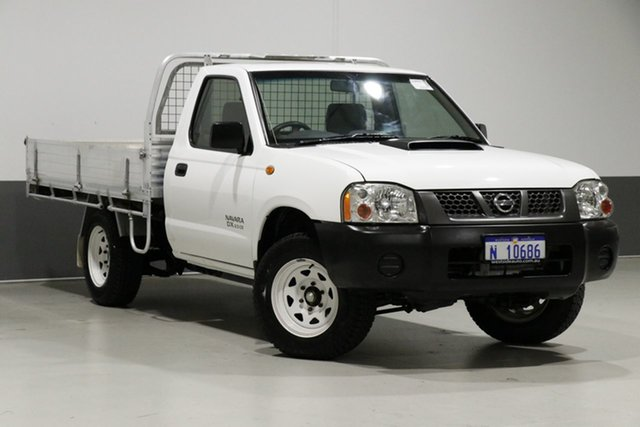 Used Nissan Navara D22 Series 5 DX (4x2), 2012 Nissan Navara D22 Series 5 DX (4x2) White 5 Speed Manual Cab Chassis