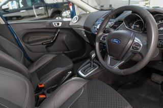 2018 Ford Fiesta WZ Sport PwrShift Blue 6 Speed Sports Automatic Dual Clutch Hatchback
