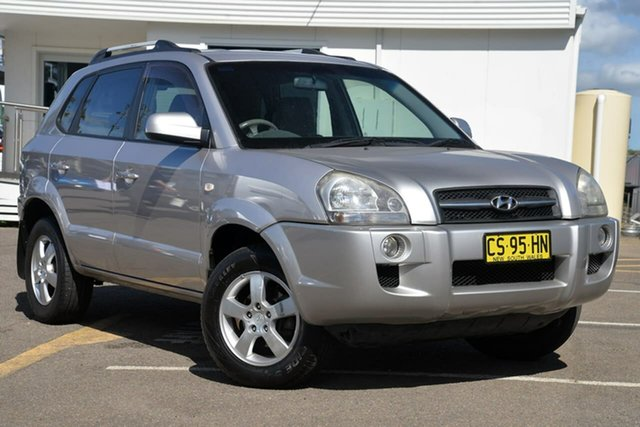 Used Hyundai Tucson JM City, 2005 Hyundai Tucson JM City Silver 4 Speed Sports Automatic Wagon