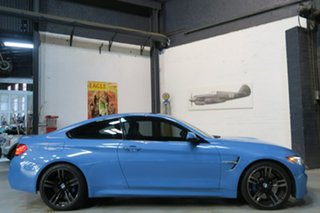 2014 BMW M4 F82 M-DCT Blue 7 Speed Sports Automatic Dual Clutch Coupe.