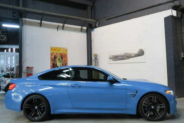 Used BMW M4 F82 M-DCT, 2014 BMW M4 F82 M-DCT Blue 7 Speed Sports Automatic Dual Clutch Coupe