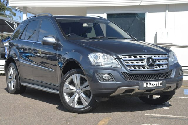 Used Mercedes-Benz ML350 W164 MY10 , 2010 Mercedes-Benz ML350 W164 MY10 Grey 7 Speed Sports Automatic Wagon
