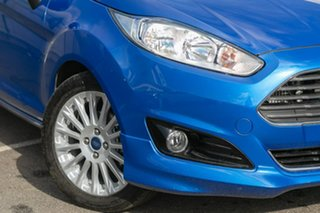 2018 Ford Fiesta WZ Sport PwrShift Blue 6 Speed Sports Automatic Dual Clutch Hatchback.