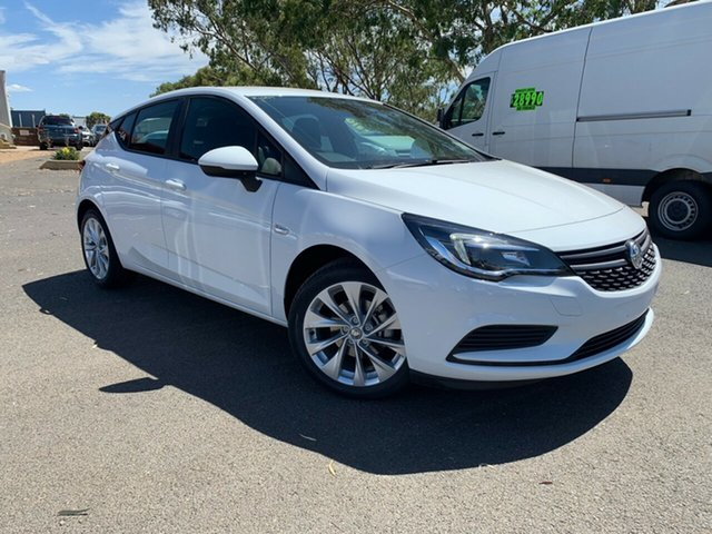 New Holden Astra BK MY19 R+, 2019 Holden Astra BK MY19 R+ Summit White 6 Speed Automatic Hatchback