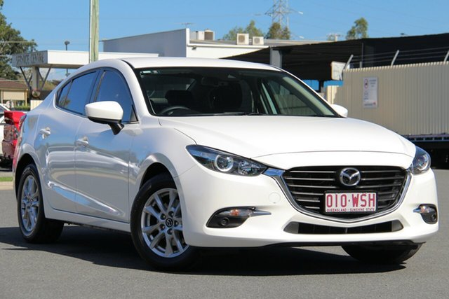 Used Mazda 3 BN5276 Maxx SKYACTIV-MT, 2016 Mazda 3 BN5276 Maxx SKYACTIV-MT Snowflake White 6 Speed Manual Sedan