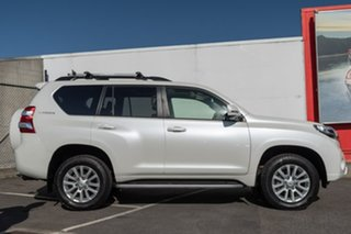 2015 Toyota Landcruiser Prado KDJ150R MY14 Kakadu White 5 Speed Sports Automatic Wagon.