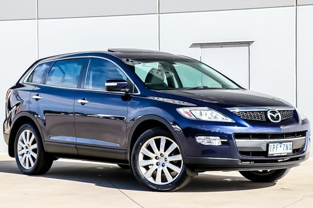Used Mazda CX-9 TB10A1 Luxury, 2008 Mazda CX-9 TB10A1 Luxury Stormy Blue 6 Speed Sports Automatic Wagon