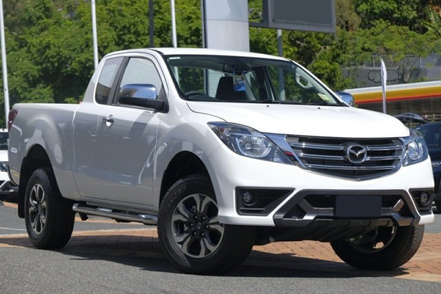 New Mazda BT-50 UR0YG1 XTR Freestyle, 2019 Mazda BT-50 UR0YG1 XTR Freestyle Cool White 6 Speed Sports Automatic Utility