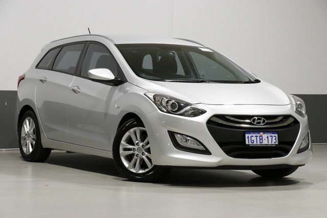 Used Hyundai i30 GD Tourer Active 1.6 GDi, 2013 Hyundai i30 GD Tourer Active 1.6 GDi Silver 6 Speed Automatic Wagon