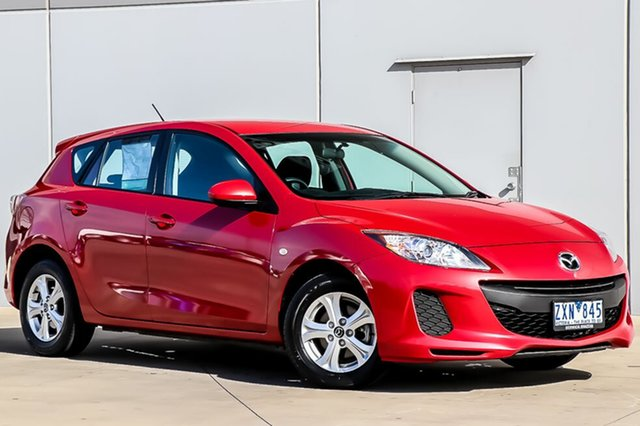Used Mazda 3 BL10F2 MY13 Neo Activematic, 2013 Mazda 3 BL10F2 MY13 Neo Activematic Velocity Red 5 Speed Sports Automatic Hatchback