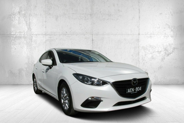 Used Mazda 3 BM5476 Neo SKYACTIV-MT, 2015 Mazda 3 BM5476 Neo SKYACTIV-MT White 6 Speed Manual Hatchback