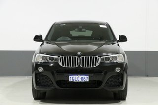 2017 BMW X4 F26 MY16 xDrive 35I Black 8 Speed Automatic Coupe.