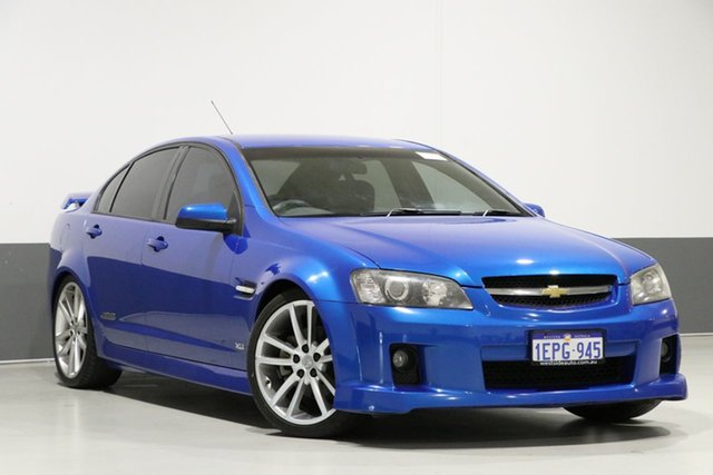 Used Holden Commodore VE MY08 SS-V, 2008 Holden Commodore VE MY08 SS-V Blue 6 Speed Manual Sedan