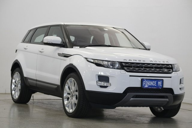 Used Land Rover Range Rover Evoque L538 MY13 TD4 CommandShift Pure, 2013 Land Rover Range Rover Evoque L538 MY13 TD4 CommandShift Pure White 6 Speed Sports Automatic