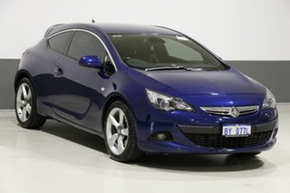 2015 Holden Astra PJ GTC Blue 6 Speed Manual Hatchback
