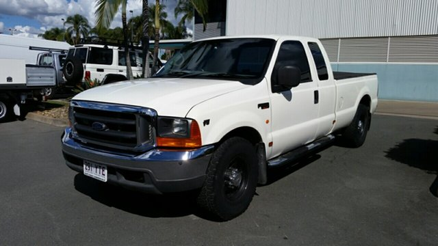 Used Ford F250 RN XLT Super Cab 4x2, 2006 Ford F250 RN XLT Super Cab 4x2 White 4 Speed Automatic Utility