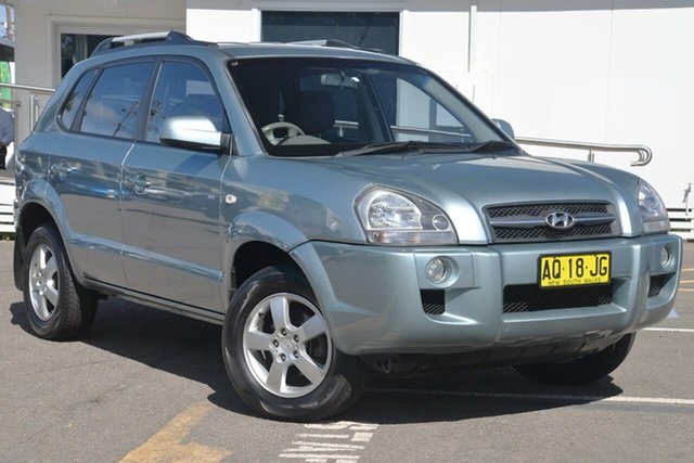 Used Hyundai Tucson JM MY07 City SX, 2007 Hyundai Tucson JM MY07 City SX Green 4 Speed Sports Automatic Wagon