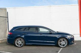 2018 Ford Mondeo MD 2018.25MY Titanium PwrShift Blue 6 Speed Sports Automatic Dual Clutch Wagon.