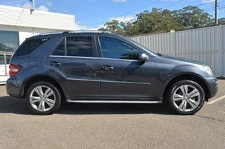 2010 Mercedes-Benz ML350 W164 MY10 Grey 7 Speed Sports Automatic Wagon.