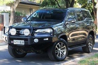 2017 Toyota Fortuner GUN156R Crusade Graphite 6 Speed Automatic Wagon.