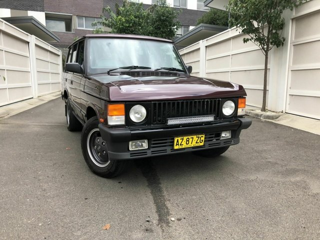 Used Land Rover Range Rover  Vogue SE, 1994 Land Rover Range Rover Vogue SE Maroon 4 Speed Automatic Wagon
