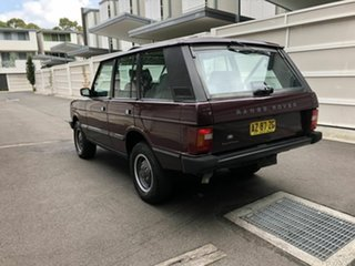 1994 Land Rover Range Rover Vogue SE Maroon 4 Speed Automatic Wagon