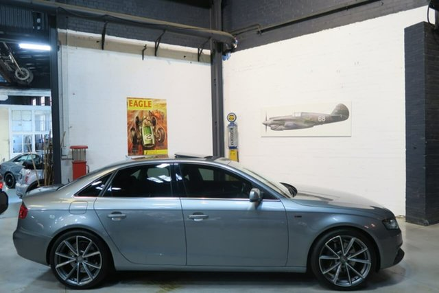 Used Audi A4 B8 8K MY11 S Tronic Quattro, 2010 Audi A4 B8 8K MY11 S Tronic Quattro Grey 7 Speed Sports Automatic Dual Clutch Sedan
