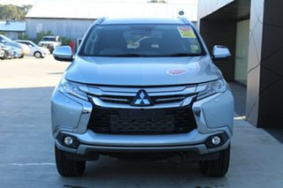 2018 Mitsubishi Pajero Sport QE MY19 Exceed Sterling Silver 8 Speed Sports Automatic Wagon