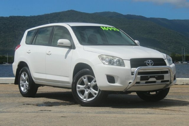 Used Toyota RAV4 ACA33R MY12 CV, 2012 Toyota RAV4 ACA33R MY12 CV White 4 Speed Automatic Wagon