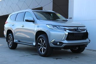 2018 Mitsubishi Pajero Sport QE MY19 Exceed Sterling Silver 8 Speed Sports Automatic Wagon.