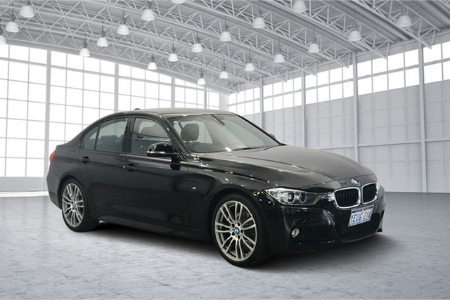 Used BMW 320d F30 MY1114 Modern Line, 2015 BMW 320d F30 MY1114 Modern Line Black 8 Speed Sports Automatic Sedan