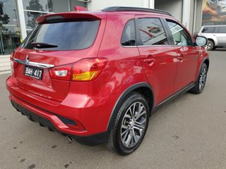 2017 Mitsubishi ASX XC MY17 LS Red Continuous Variable Wagon