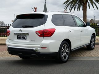 2018 Nissan Pathfinder R52 Series II MY17 ST-L X-tronic 2WD Ivory Pearl 1 Speed Constant Variable