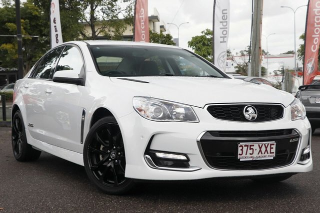 Used Holden Commodore VF II MY16 SS V, 2016 Holden Commodore VF II MY16 SS V White 6 Speed Sports Automatic Sedan