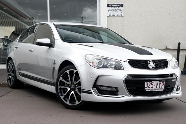Used Holden Commodore VF II MY16 SS V, 2015 Holden Commodore VF II MY16 SS V Silver 6 Speed Sports Automatic Sedan