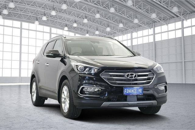 Used Hyundai Santa Fe DM5 MY18 Elite, 2017 Hyundai Santa Fe DM5 MY18 Elite Black 6 Speed Sports Automatic Wagon